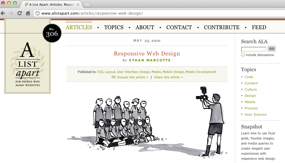 RESS - Responsive Webdesign and Server Side Components