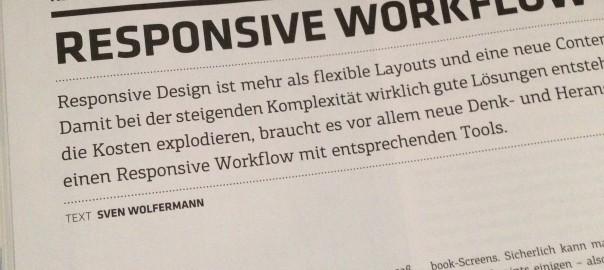 Artikel Responsive Workflow