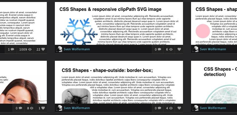 CSS Shapes – neue Formen braucht das Web